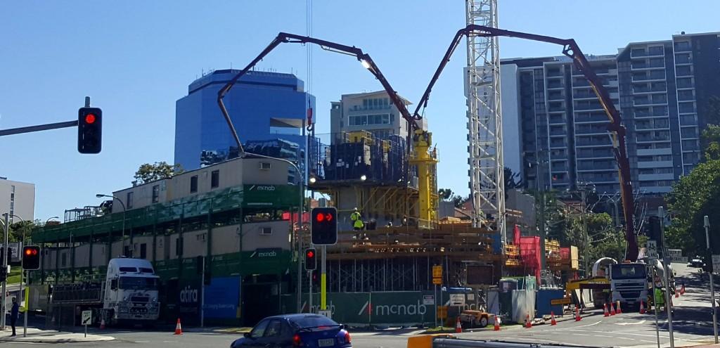 Satellite Concrete Brisbane Pump Action