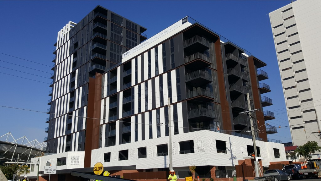Concrete Pump Boom Brisbane Residential Apartments