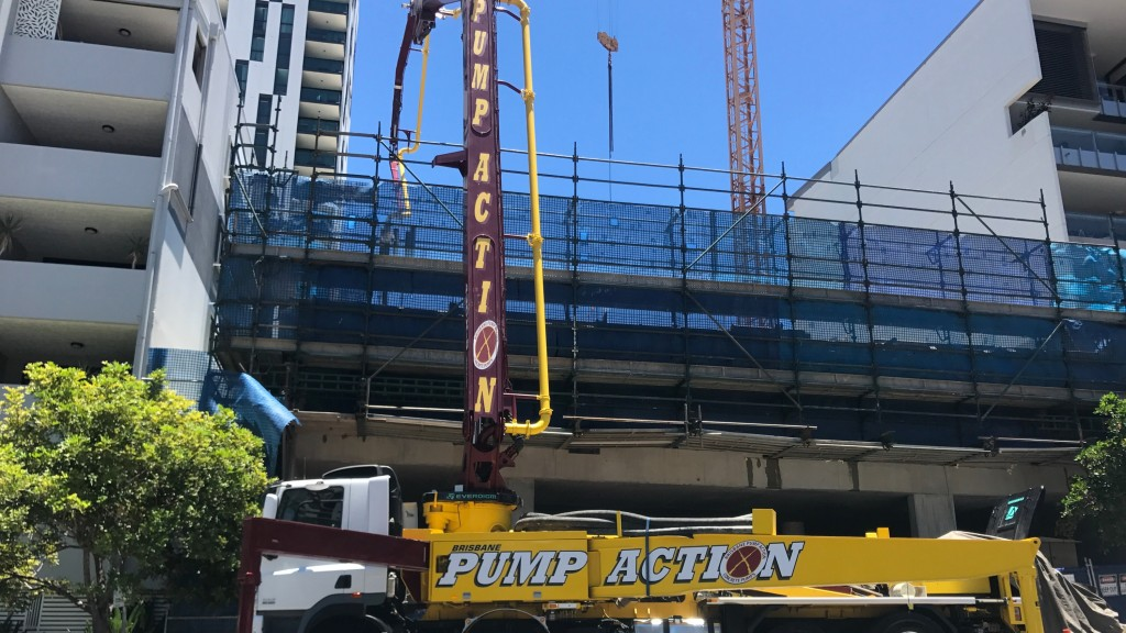 Concrete Pump Boom Brisbane
