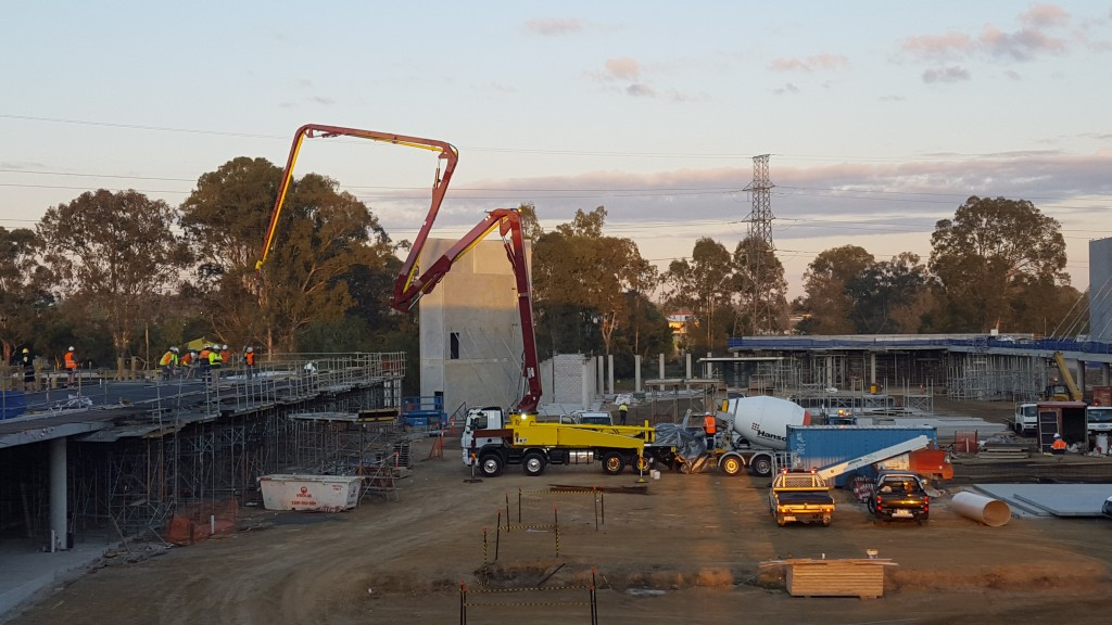 Concrete Pump Boom Brisbane Commercial