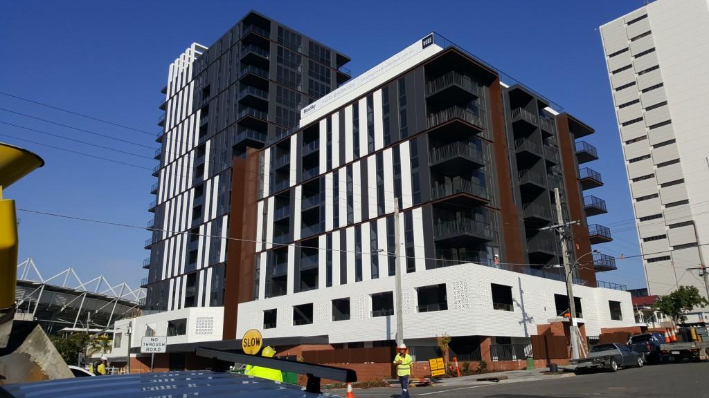 Kangaroo Point Brisbane Pump Action Concrete Boom