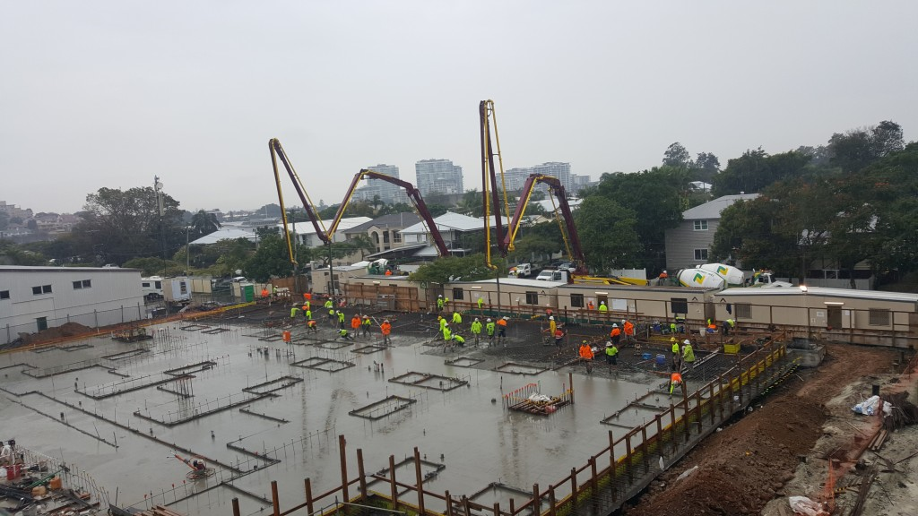Brisbane Pump Action Concrete Slab