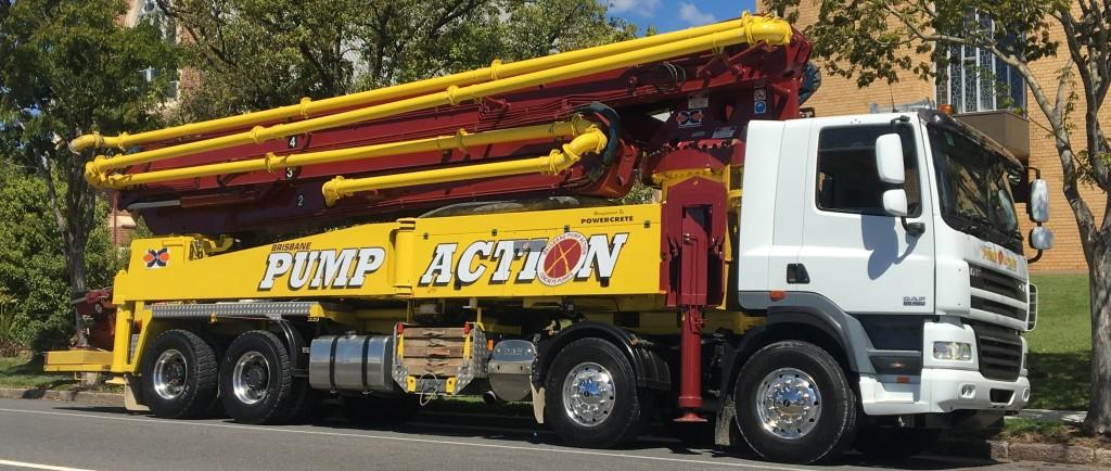 Brisbane Pump Action Concrete Pump Boom
